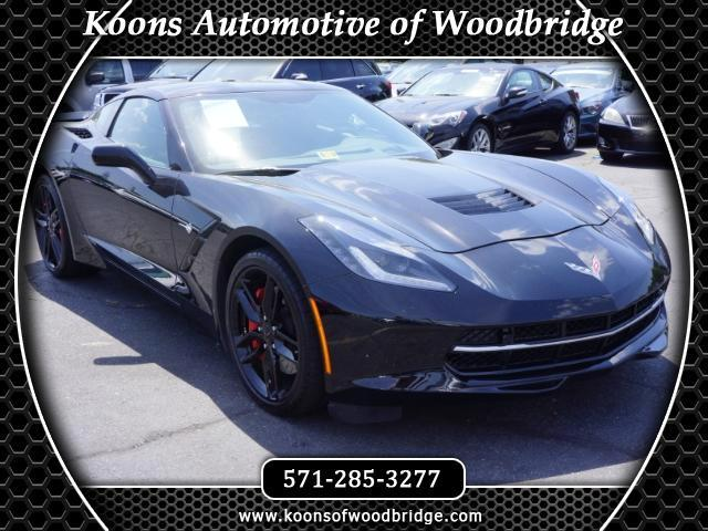 2016 Chevrolet Corvette Z51 2LT Coupe Manual