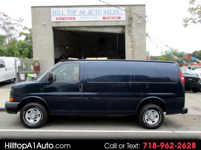 2010 Chevrolet Express 2500 Cargo Van Blue