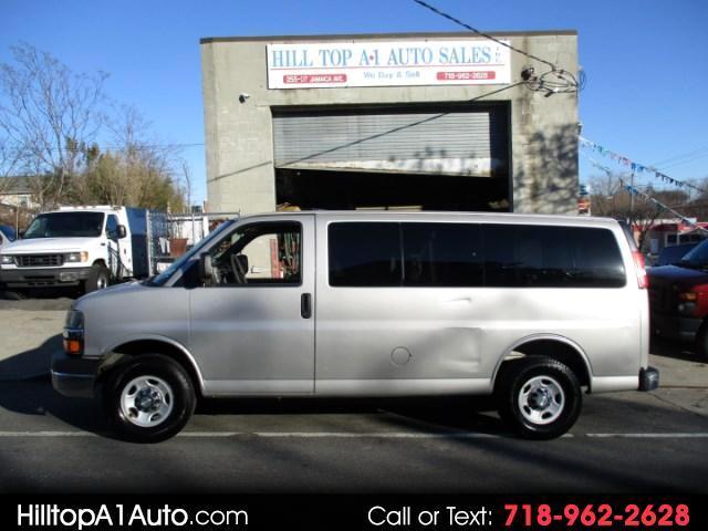 2009 Chevrolet Express Passenger Van LS 3500 Silver