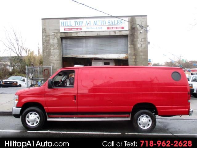 2012 Ford Econoline Vans E-250 Extended Cargo Van Red Chrome Front Loa