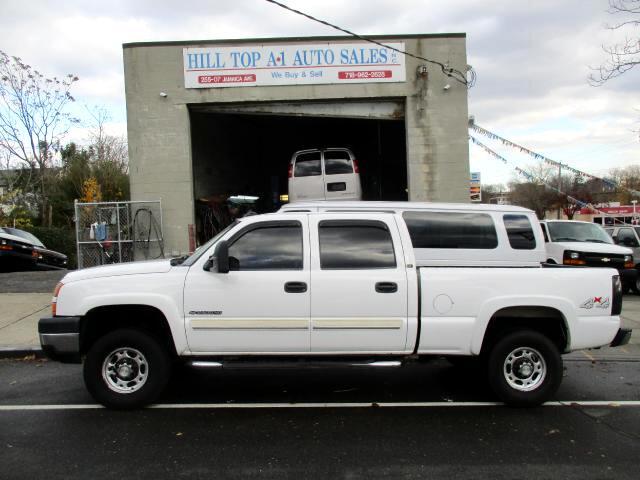 2006 Chevrolet Silverado 2500HD LT Crew Cab 4WD Pickup Truck 6 Foot Bed