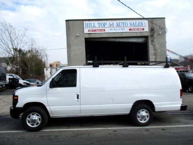 2008 Ford Econoline Vans E-350 Extended Cargo Van with Rack