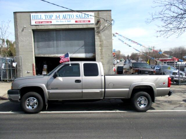 2003 Chevrolet Silverado 2500HD LS Extended Cab, 4x4, 8 Foot Bed K2500