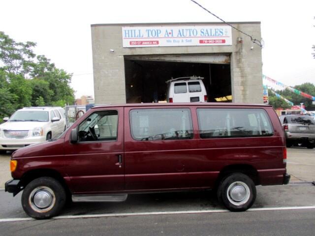 2005 Ford Econoline E-350 XL Passenger Van Maroon 64K