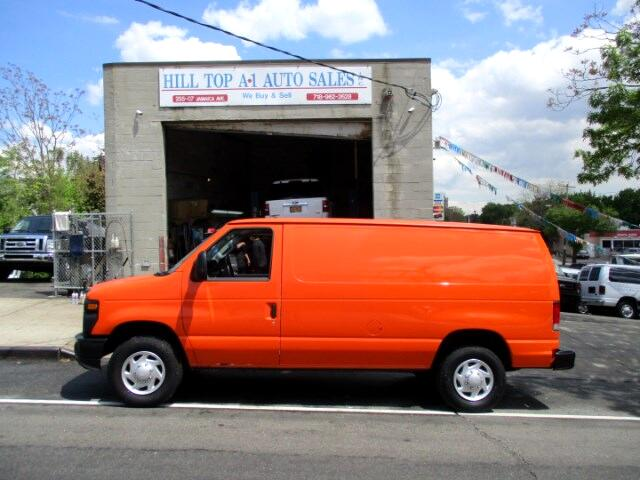"2013 Ford Econoline Vans E-250 Enclosed Cargo Van Loaded "" Orange """