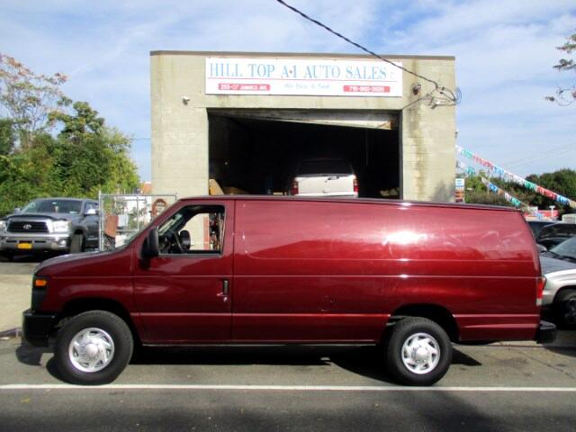 2010 Ford Econoline Vans E-250 Extended Cargo Van Maroon