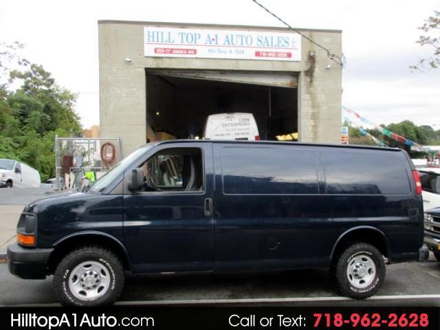 2012 Chevrolet Express 2500 Cargo Van Blue 85K