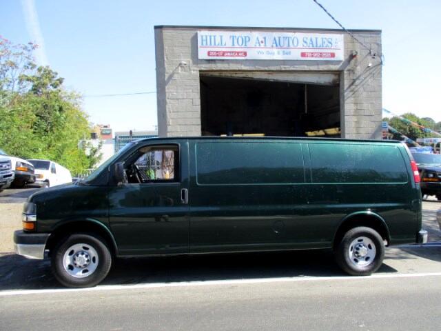 2014 Chevrolet Express Vans G2500 LS Cargo Van Chrome Front Loaded, Dark