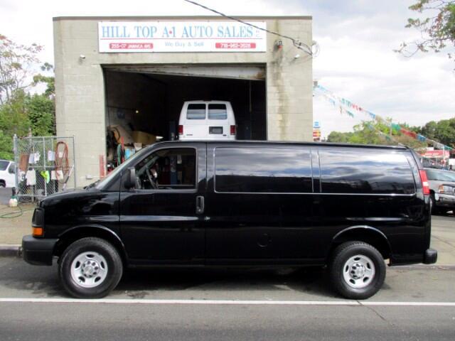 2013 Chevrolet Express Vans G2500 Cargo Van Black Beauty Loaded