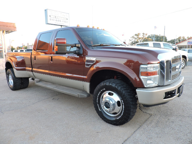 2008 Ford F-350 SD King Ranch Crew Cab Long Bed DRW 4WD