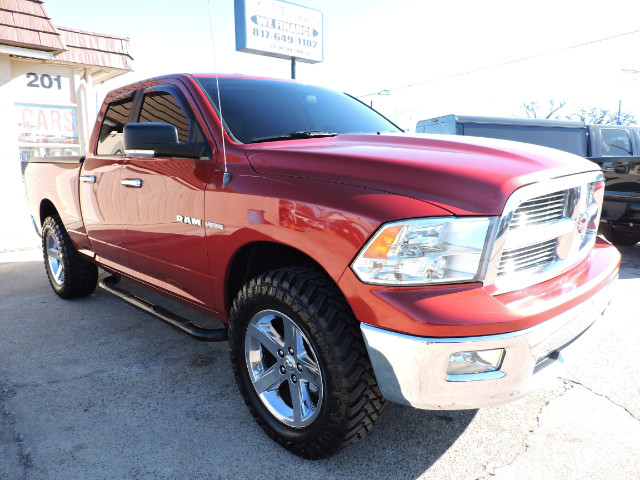 2010 Dodge Ram 1500 SLT Quad Cab Short Bed 4WD