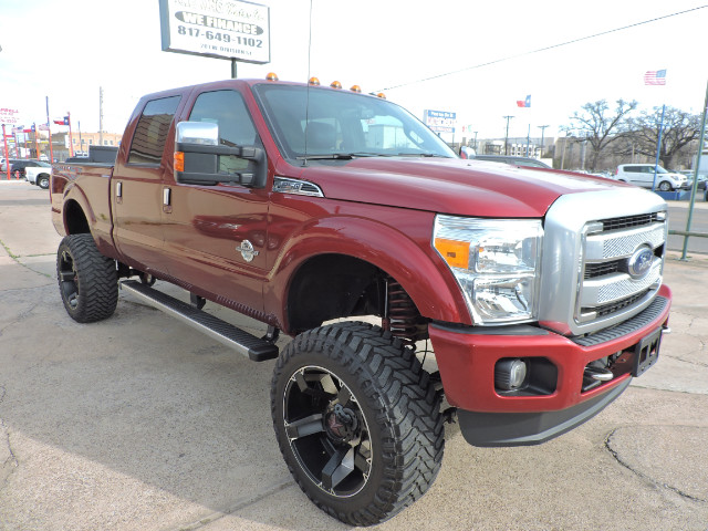 2016 Ford F-250 SD Platinum