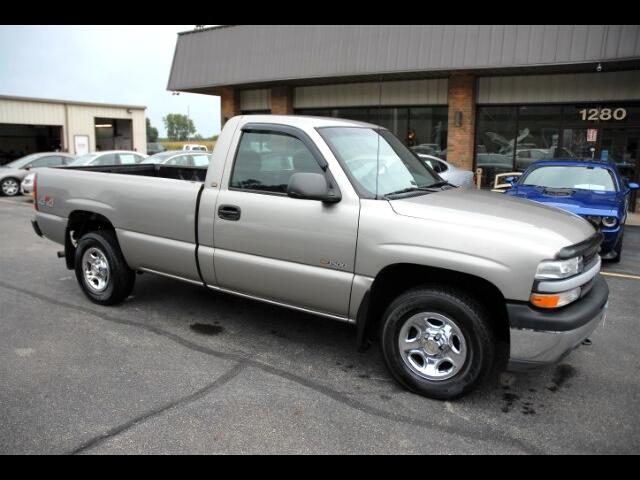 2000 Chevrolet Silverado 1500 Regular Cab Long Bed 4WD