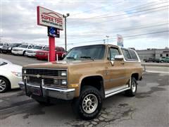 1984 Chevrolet C/K 10 Blazer