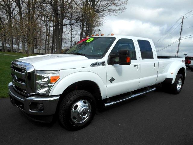 2014 Ford F-350 SD Lariat Crew Cab Long Bed DRW 4WD