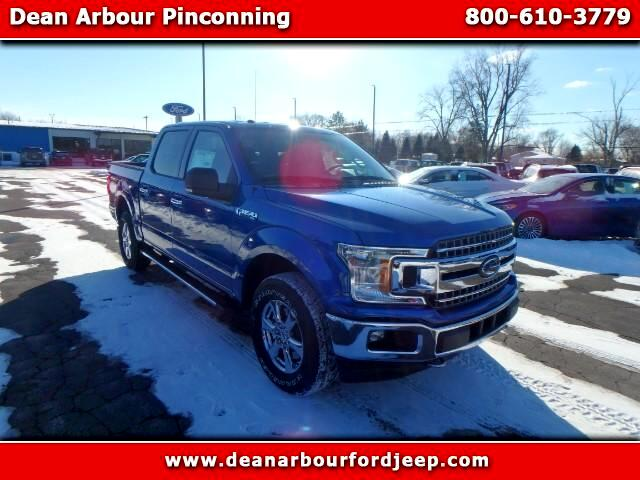 2018 Ford F-150 Lariat SuperCrew 5.5-ft. Bed 4WD