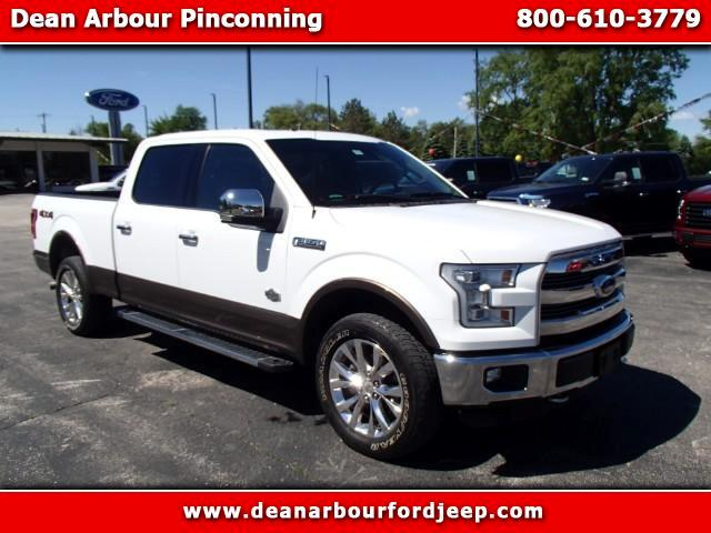 2015 Ford F-150 King Ranch SuperCrew 6.5-ft. 4WD