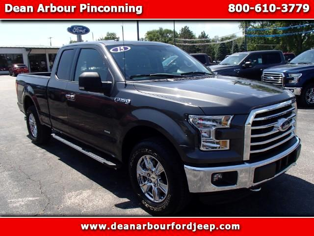 2015 Ford F-150 XLT SuperCab Long Bed 4WD