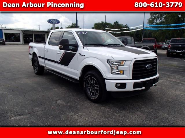 2015 Ford F-150 XLT SuperCrew 6.5-ft Box 4WD