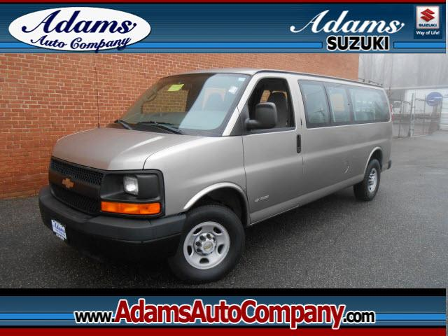 2004 Chevrolet Express If someone told you that you could have a 15 pass super clean van that only h
