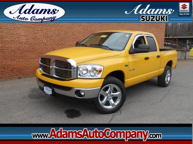 2008 Dodge Ram 1500 Just inRare Detonator Yellow gives you one of the most unique trucks out the