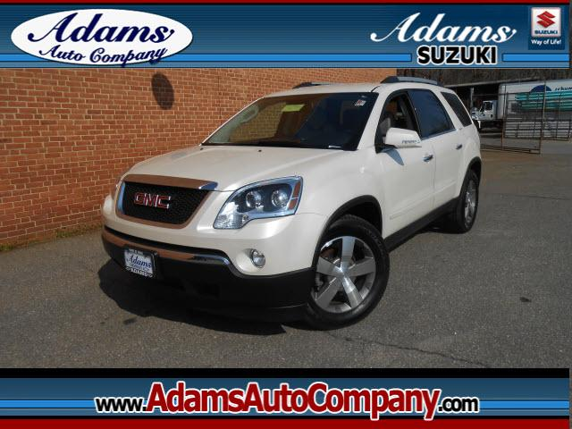 2012 GMC Acadia If youve been looking at Crossovers for the family then look no furtherNo matt