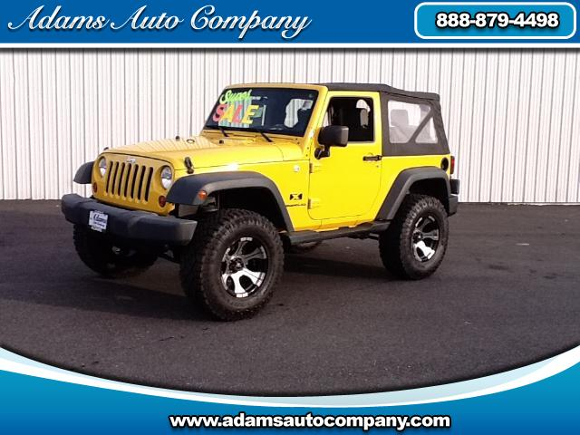 2008 Jeep Wrangler Hard-2-findYellow JeepBuilt the right wayAll stock factory6spd w A