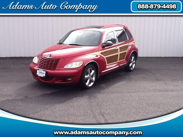 2004 Chrysler PT Cruiser Heres your one shot at historyAmerican Woody WagonPT Cruiser Turbo