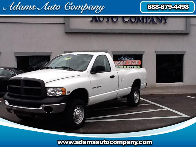 2005 Dodge Ram 2500 120 point certification and is ready for years of enjoymentReady for the BONUS