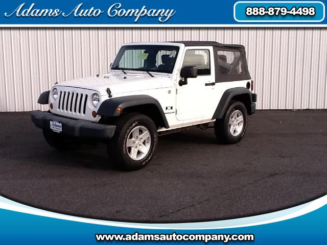 2009 Jeep Wrangler This vehicle is another example of the Adams Auto Company commitment to stock veh