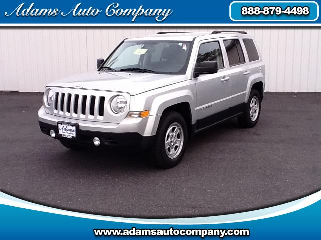 2011 Jeep Patriot This vehicle is another example of the Adams Auto Company commitment to stock vehi