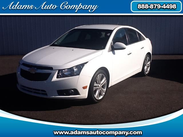 2012 Chevrolet Cruze Heres the TOP OF THE LINE GM CruzeKeyless controlsHeated Leather to ENJ