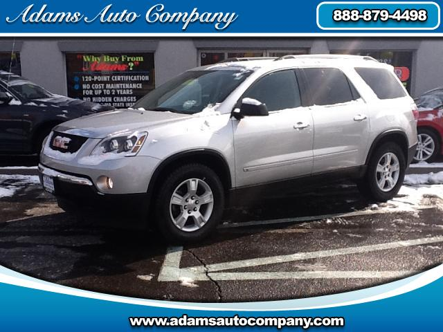 2010 GMC Acadia BUY with confidence this GM CERTIFIED Acadia SLEALL WHEEL DRIVE means no worries