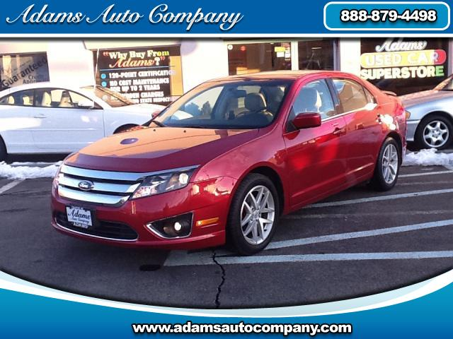 2011 Ford Fusion Only 36k very carfully driven miles on this sharp example of a Ford Fusion SEL what