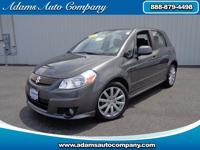 2011 Suzuki SX4 VERY CLEAN ONE OWNER LOCAL TRADE POWER WINDOWS POWER LOCKS AUTO CVT TRANS HEIGHT ADJ