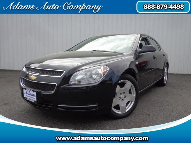 2008 Chevrolet Malibu This vehicle is another example of the Adams Auto Company commitment to stock