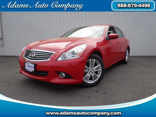 2013 Infiniti G37X  ALL WHEEL DRIVE  LEATHER SUNROOF AUTOMATIC MORE OPTIONS CALL TODAY AND CRU