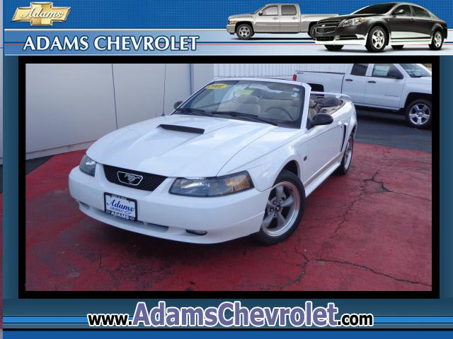 2001 Ford Mustang  ONLY 37000 MILES ON THIS CLEAN GT CONVERTIBLE STOP BY ADAMS TODAY AND CRUISE