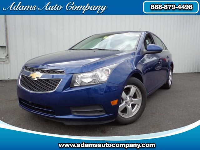 2012 Chevrolet Cruze This vehicle is another example of the Adams Auto Company c