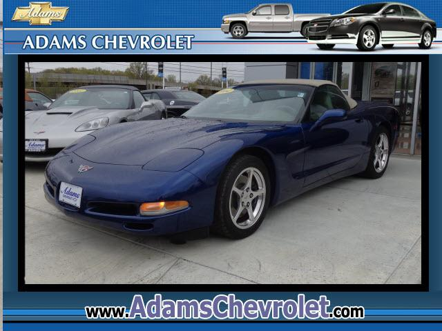 2004 Chevrolet Corvette Adams Chevrolet where customer satisfaction is our number 1 priority is prou