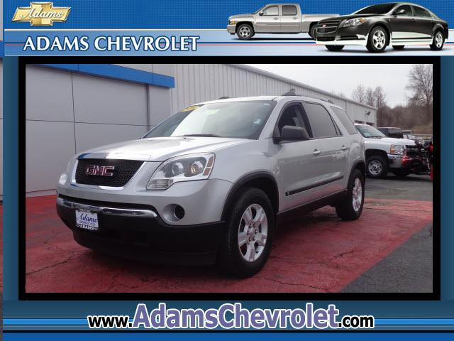2010 GMC Acadia Adams Chevrolet where customer satisfaction is our number 1 prio