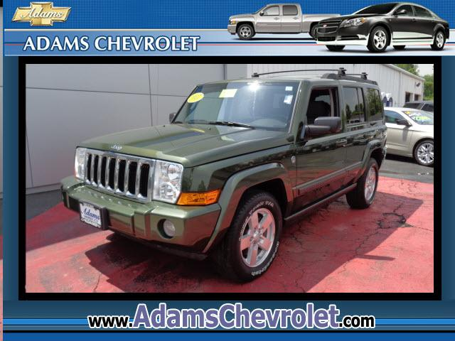 2007 Jeep Commander Adams Chevrolet where customer satisfaction is our number 1 priority is proud to