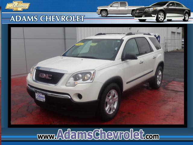 2011 GMC Acadia Adams Chevrolet where customer satisfaction is our number 1 priority is proud to off