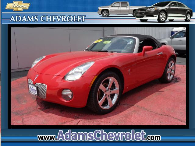 2007 Pontiac Solstice Adams Chevrolet where customer satisfaction is our number 1 priority is proud