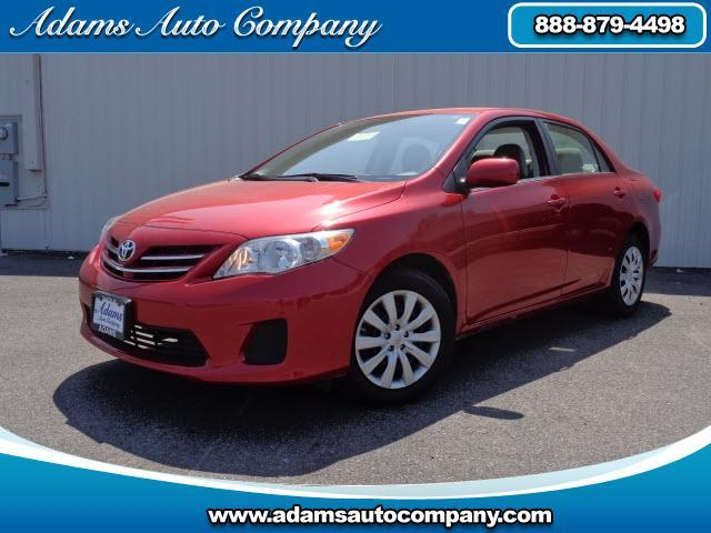 2013 Toyota Corolla  LOW PAYMENTS 2013 COROLLA S POWER EQUIPPED CRUISE CONTROL AUTO TRANSMISSON