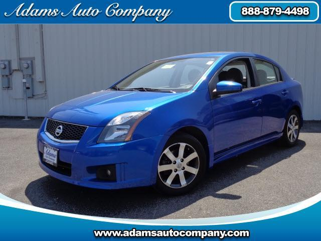 2012 Nissan Sentra  NAVIGATION AND SUNROOF ALLOY WHEELS AND AWESOME BLUE ONYX COLOR NOT YOUR