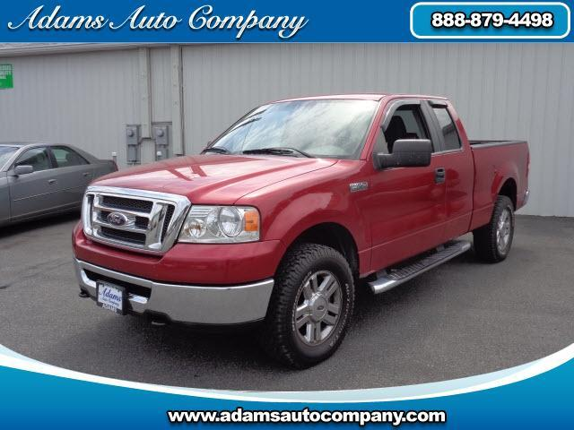 2007 Ford F-150 This vehicle is another example of the Adams Auto Company commitment to stock vehicl
