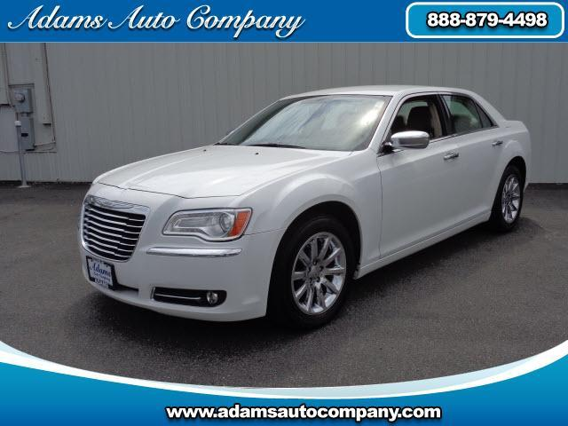 2011 Chrysler 300 This vehicle is another example of the Adams Auto Company commitment to stock vehi
