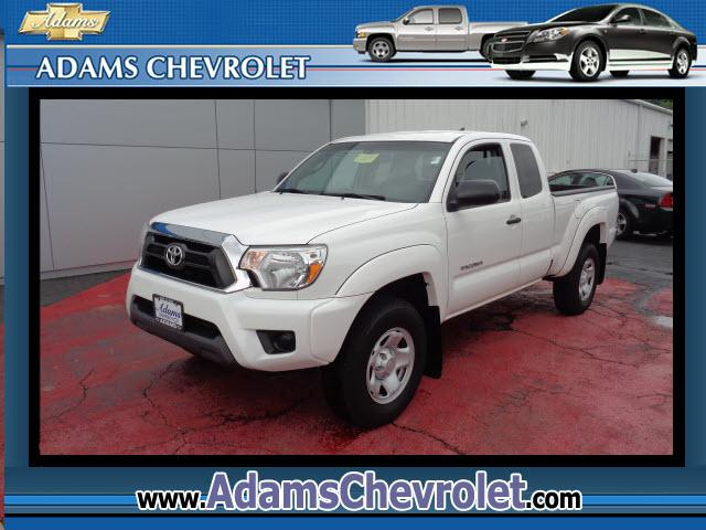 2012 Toyota Tacoma Adams Chevrolet where customer satisfaction is our number 1 priority is proud to