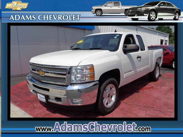2012 Chevrolet Silverado 1500 Adams Chevrolet where customer satisfaction is our number priority is